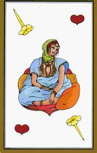 reine-coeur-tarot-persan