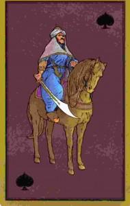cavalier-cimeterre-tarot-persan