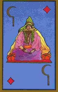 reine-faucille-tarot-persan