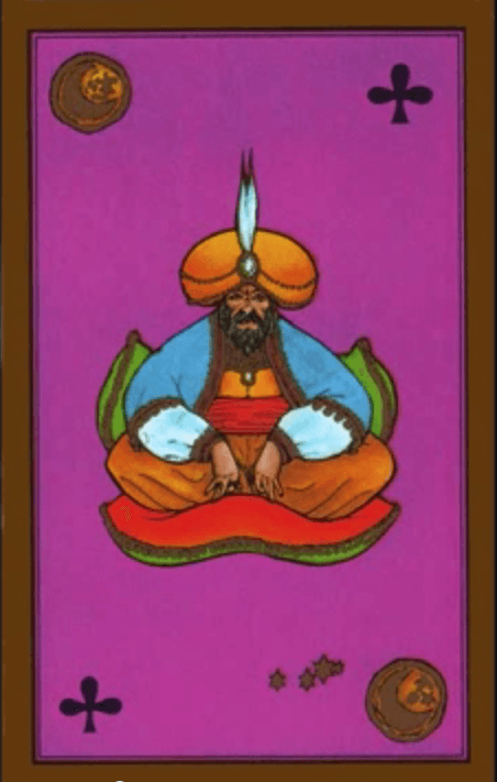 roi-ecus-tarot-persan