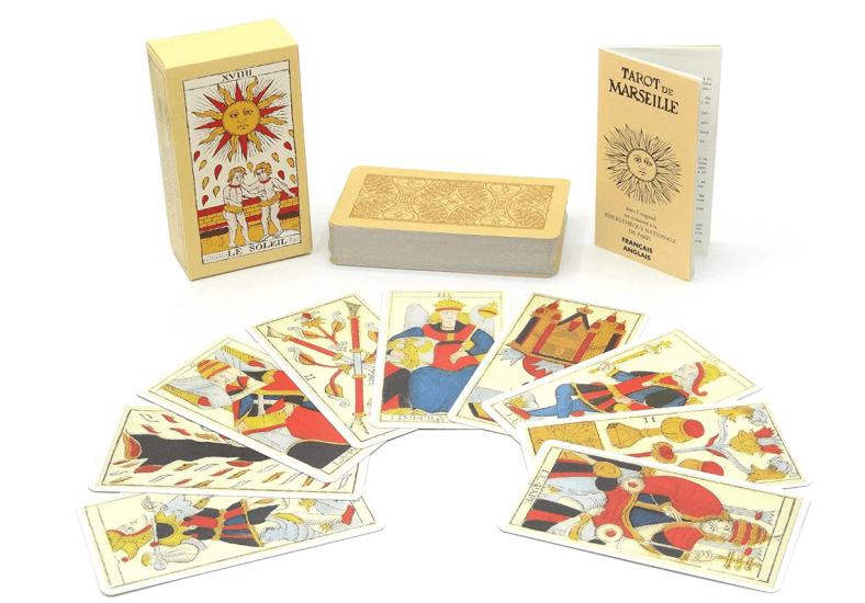 plus beau jeu de tarot de marseille
