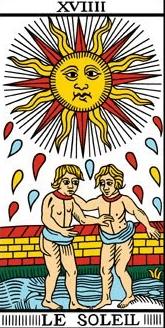 soleil tarot de marseille interpretation tirage amour